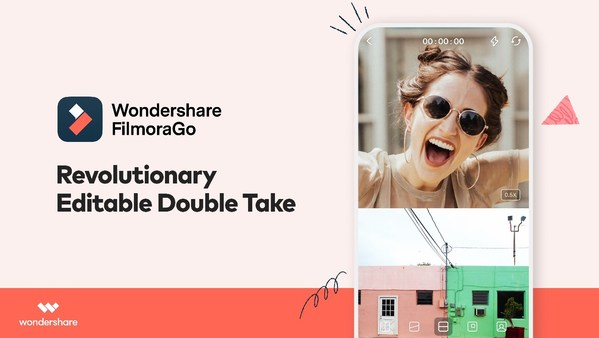 Wondershare FilmoraGo Introduces a Creative New Way to Make Videos: The Double Take Feature