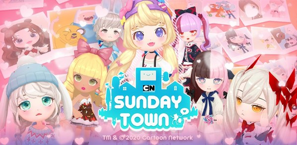 「カートゥーン ネットワーク SundayTown」 日本先行配信開始!