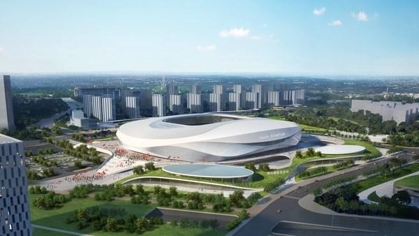 2023年度アジアカップ青島「青春サッカー場」イメージ図