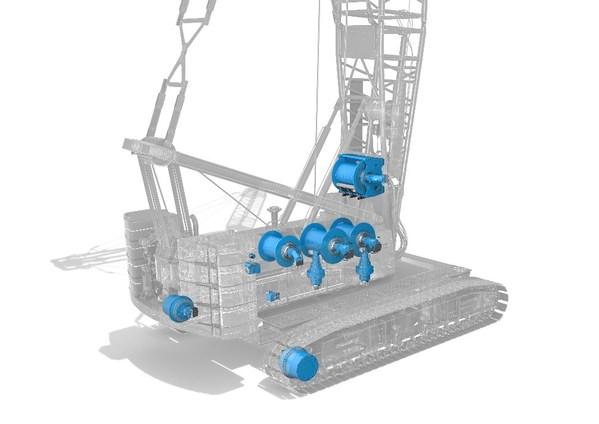 德纳在中国发布新式履带传动动装置 支持全面复苏的建筑市场