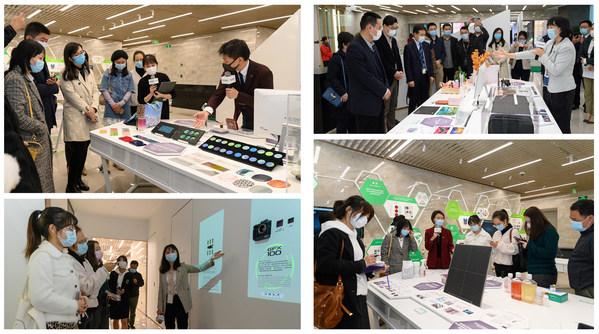 富士胶片开放创新中心·中国上海分站正式开幕,迎接各界领导、广大企业客户、媒体及社会公众的参观和交流
