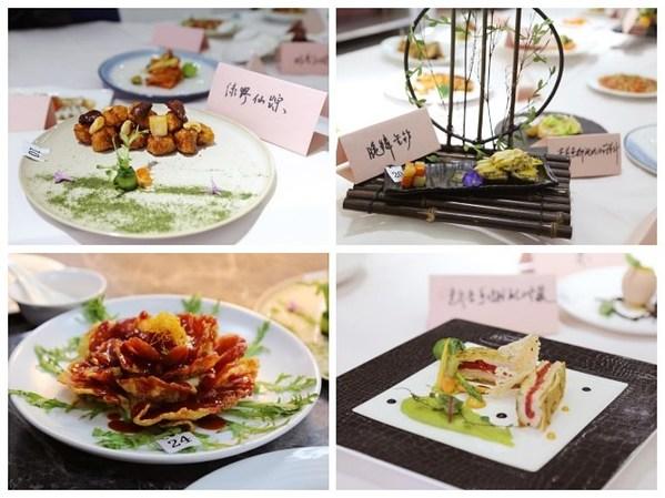 """参赛者在李锦记""""创新 为中华美食赋能""""烹饪技能比赛中表现出高水准"""
