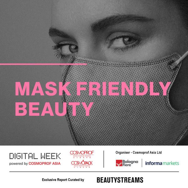 口罩已大大地影响了美容的例行程序,业界正在开发不脱色彩妆品和专门配方的护肤品,以应对因戴口罩所引起的炎症。