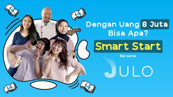 """Smart Start with JULO"" Encourages Indonesia to Move Forward"