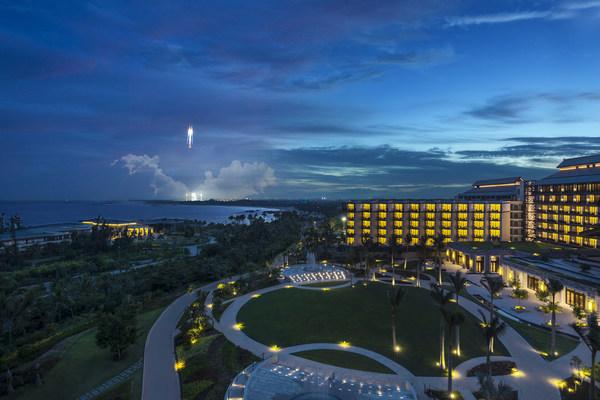 """""""嫦娥五号""""探测器发射圆满成功,文昌鲁能希尔顿酒店提供极佳观测点"""