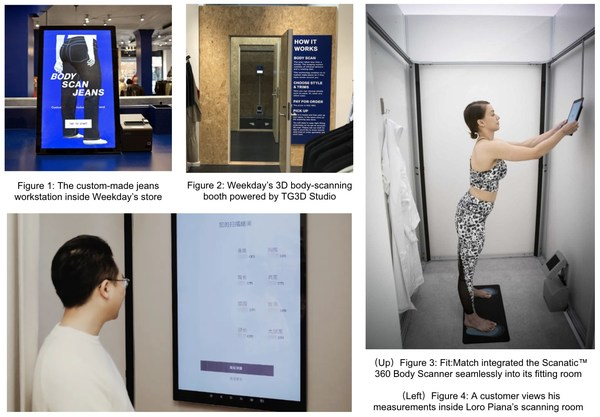 TG3D Studio's Contactless Scanatic(TM) 360 Body Scanner Powers Brand-New, Socially Distanced Apparel Shopping Experiences in Stockholm and Chicago