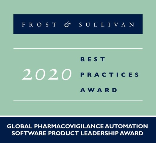2020 Global Pharmacovigilance Automation Software Product Leadership Award