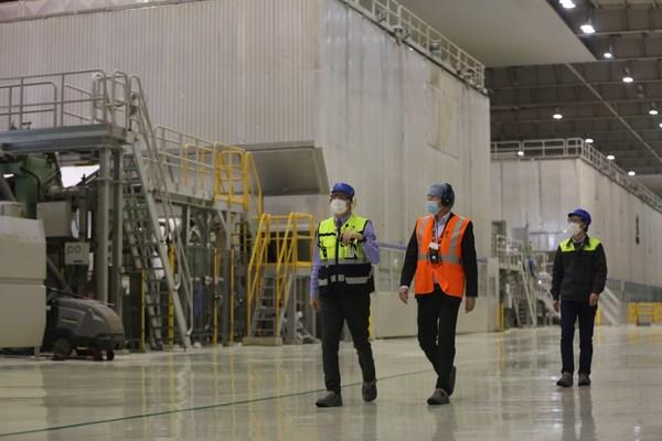 芬兰驻沪总领事一行到访常熟及UPM工厂 | 美通社