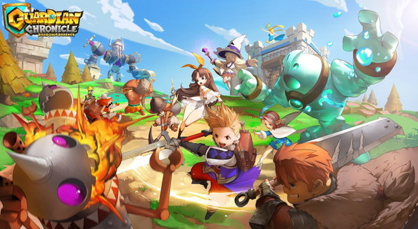 LINE Games' Multiplayer Tower Defense Guardian Chronicle Now Available on Steam Early Access