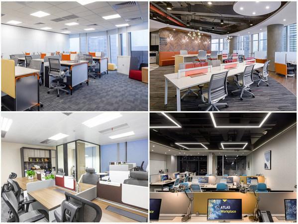 ATLAS 寰图提供服务式办公室等多元办公产品