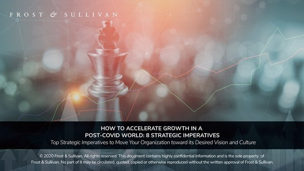Frost & Sullivan Examines 8 Strategic Imperatives for Growth in a Post-COVID World