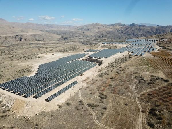 Vayots Arev-1 Solar Farm di Armenia