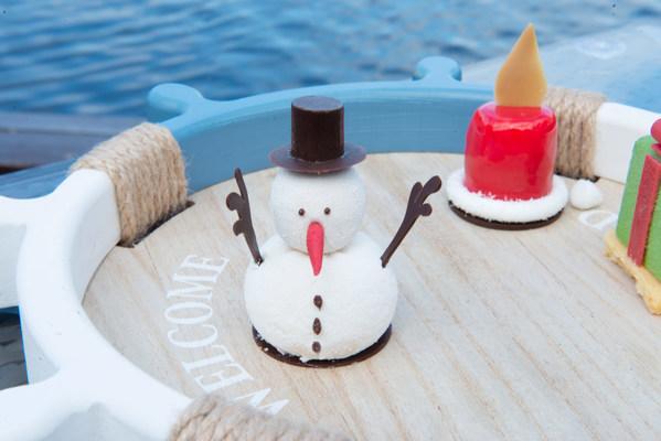 海南黄辣椒巧克力石 -- 雪人