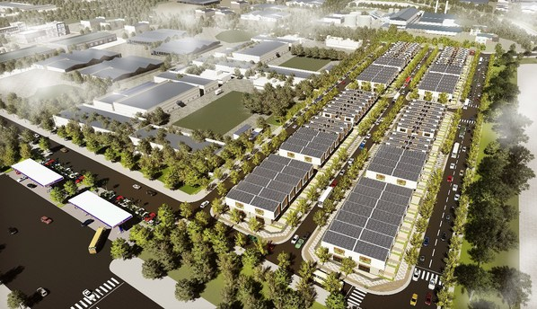 Apec Diem Thuy Thai Nguyen Industrial Park becomes a new model industrial park in Vietnam