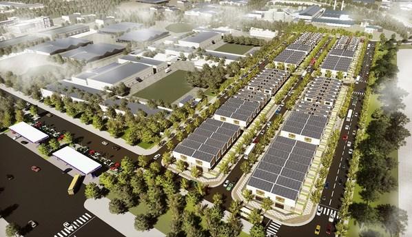 Apec Diem Thuy Industrial Park, 높은 기반시설 기준으로 동시 투자 성행
