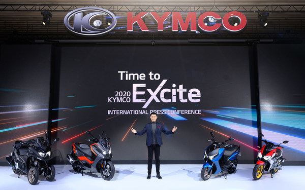 World Premier of KYMCO F9, DT X360 and KRV