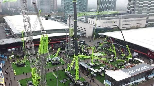ズームライオンがbauma China 2020展示会で次世代インテリジェント建設機械を発表、30億米ドル超を受注し注目を集める