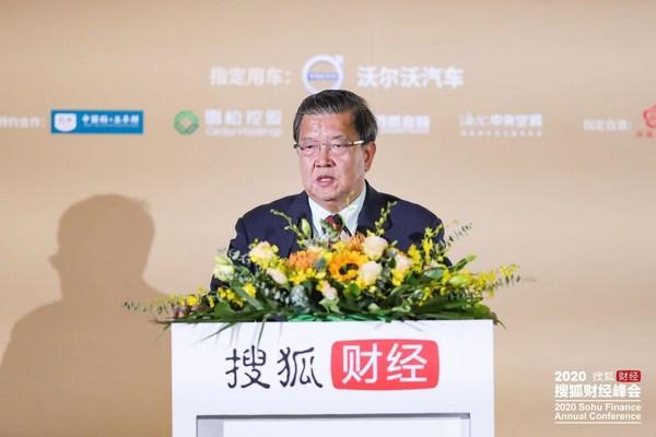 入世谈判首席代表、博鳌亚洲论坛前秘书长龙永图发表演讲