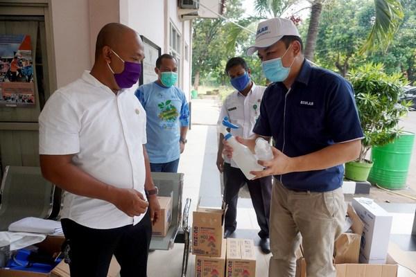 เอ็กโคแล็บมอบผลิตภัณฑ์ทำความสะอาดและฆ่าเชื้อโรคมูลค่ากว่า 200,000 ดอลลาร์ ช่วยเอเชียตะวันออกเฉียงใต้สู้โควิด-19