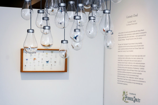 Curiosity Cloud - mischer'traxler for Perrier-Jouët at Design Miami 2020