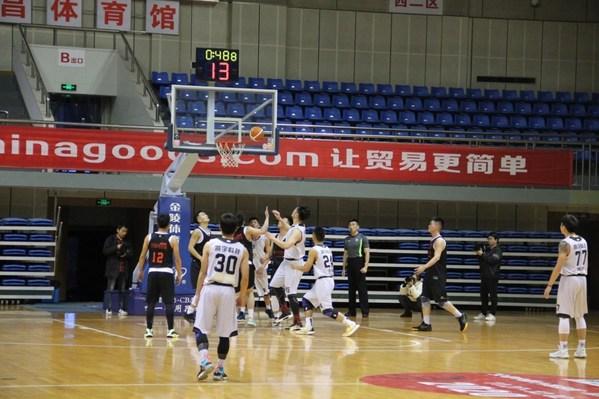 """浙江省""""篮协杯""""篮球赛激情复燃,义乌中国小商品城冠名支持"""