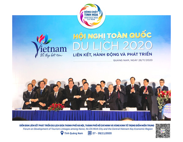 Ho Chi Minh City signed MoU with Hanoi and the Central Vietnam Key Economic Region to develop tourism linkages for reviving tourism in Vietnam