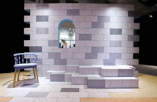 沉淀得嘉设计理念与精湛工艺的焊线砖墙