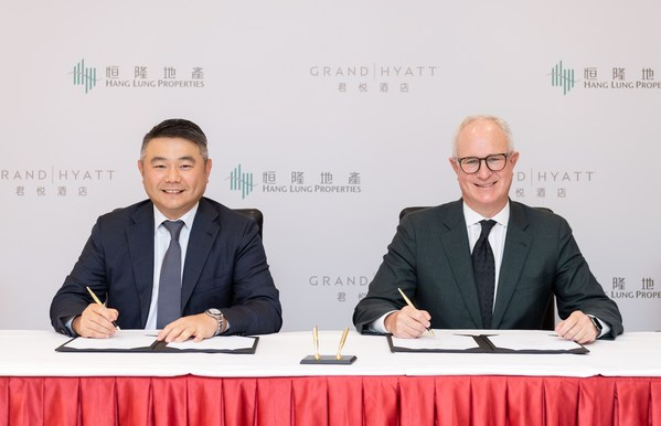 Hang Lung Collaborates with Hyatt to Open New Luxury Grand Hyatt Hotel in Kunming