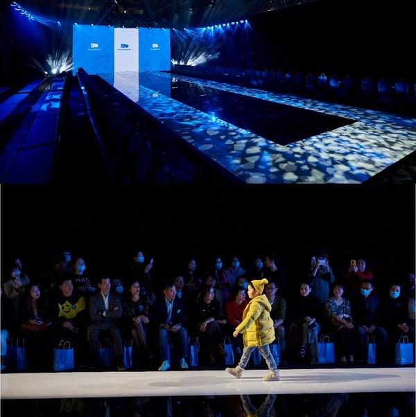 丽婴房典雅大秀亮相上海国际儿童时装周