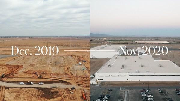 Lucid 的 AMP-01 經過精心設計,可以適應未來的發展,同時選擇了較大的工廠進行計劃擴展,並在設計工廠時特別考慮工廠的關鍵區域。計劃到 2028 年共有四個擴展階段,將年產能提升至 40 萬輛。