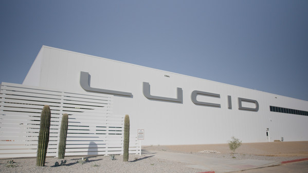 Lucid Motors Completes Construction on First Greenfield Electric Vehicle Factory in North America; Commissioning Process Underway for Spring 2021 Production Start of Lucid Air