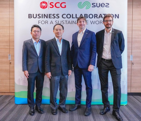 SUEZ teams up with SCG to offer post-consumer recycled plastics to drive a plastics economy in Southeast Asia