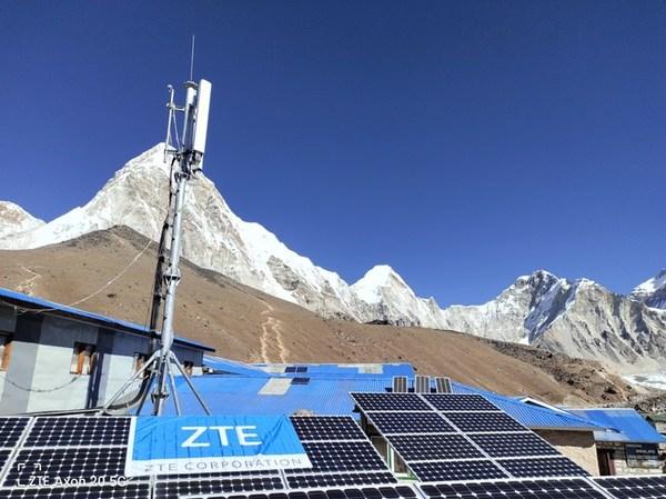 ZTEがNcellをサポートしエベレスト・ベースキャンプのネットワークの予防保守完了