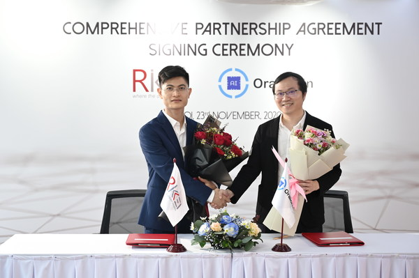 Rikkeisoft and Oraichain to Expand AI Blockchain Technology Globally