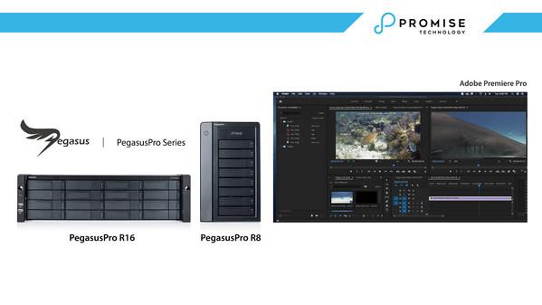 PROMISE TechnologyがAdobe Creative Cloudプロフェッショナルユーザに新たなシームレスビデオ編集環境を提供