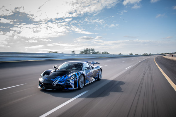 On Track: Battista Hypercar Completes High Speed Test Programme In Nardo