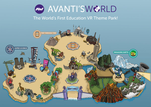 Avanti's World - Introducing The World's First Educational Virtual Reality Theme Park