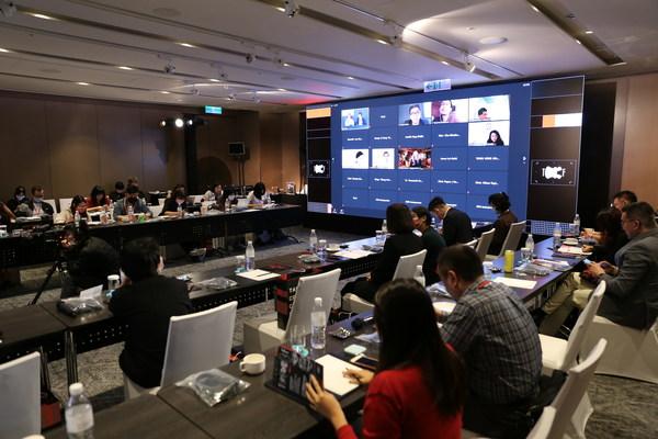 台灣文策院和金馬創投會議劇集項目向國際投資商推介優秀入選企劃