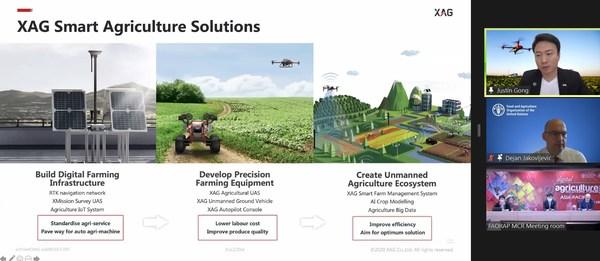 极飞科技出席联合国数字农业论坛 打造中国无人化智慧农场