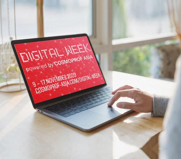 亚太区美容展数字活动周为整个美容行业提供了一个重要的网上平台。