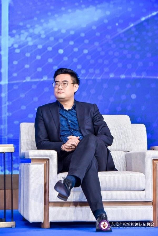 TUV莱茵大中华区电子电气产品服务副总裁杨佳劼