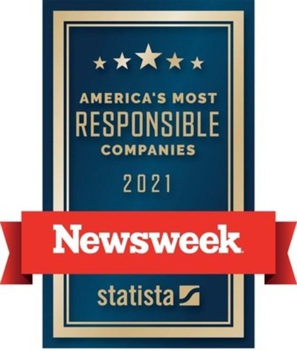 铁姆肯公司被《新闻周刊》评为美国最负责任公司之一