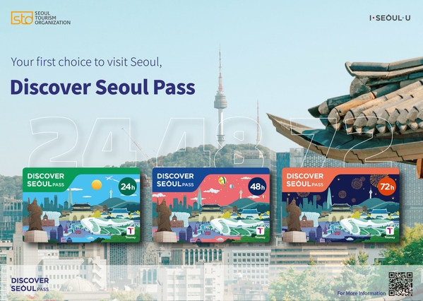 Thẻ Discover Seoul Pass phiên bản mới, lựa chọn hàng đầu khi tới Seoul