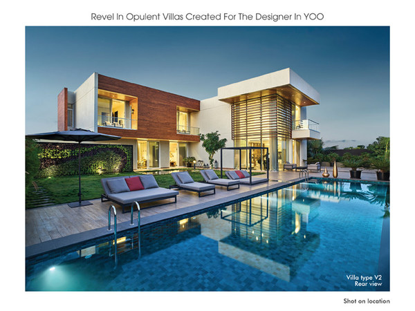 Revel in Opulent Villas Created For the Designer In YOO