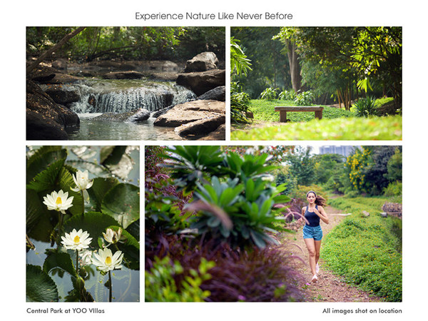 Experience Nature Like Never Before - Central Park at YOO Villas