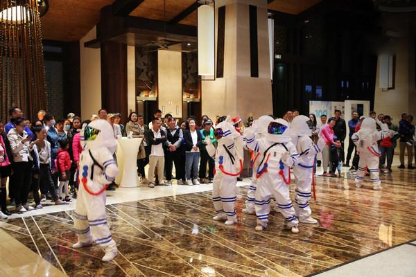 文昌鲁能希尔顿酒店2020圣诞亮灯仪式圆满举行