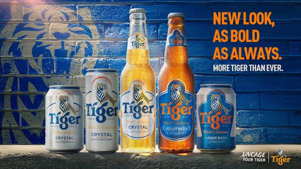 Tiger®虎牌啤酒包裝的大膽新嘗試