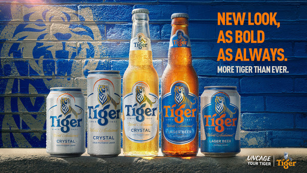 Tiger® unveils a bold new look on its packaging.