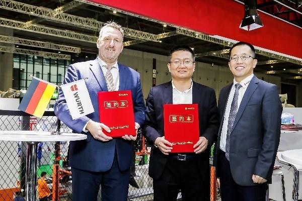 伍尔特中国与一鸣优配签署独家战略合作伙伴协议
