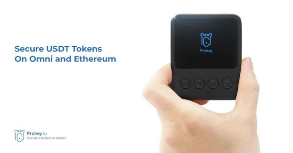 Prokey made USDT transactions easy and safe